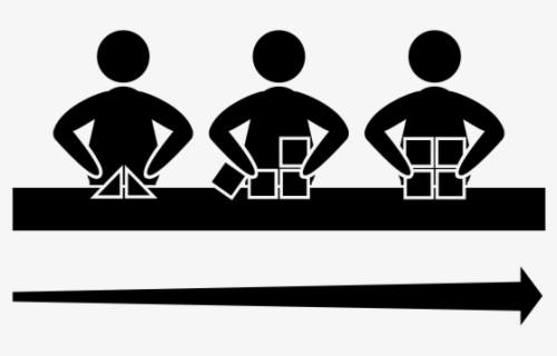 Free Assembly Line Clip Art with No Background.