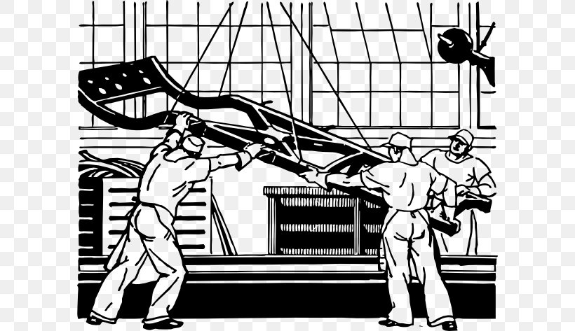 Assembly Line Factory Clip Art, PNG, 600x473px, Assembly.