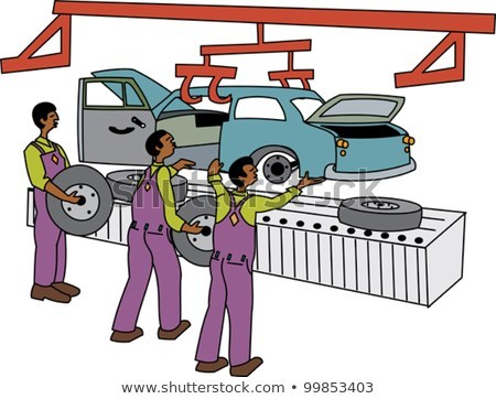 Assembly line worker clipart 5 » Clipart Portal.
