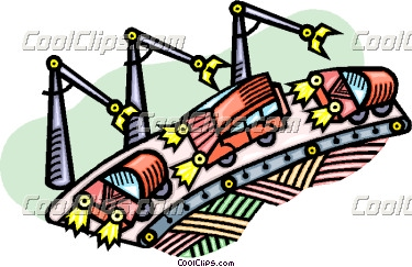 Clip Art Car Assembly Lines Clipart.