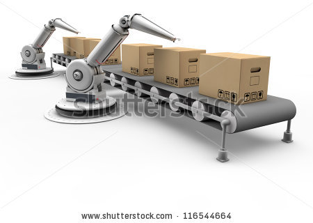Assembly Line Stock Photos, Royalty.
