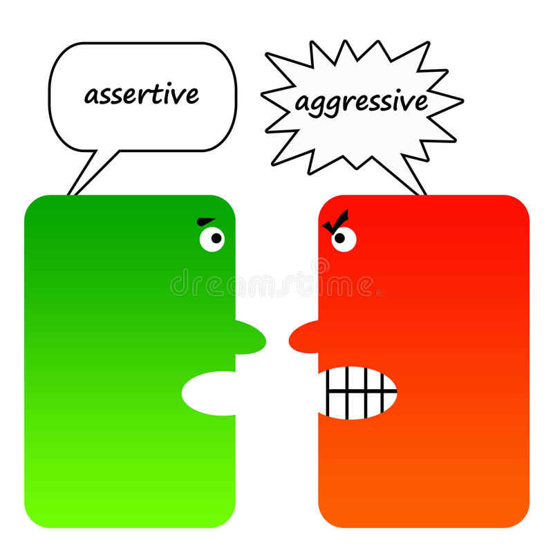 Assertive Stock Illustrations.