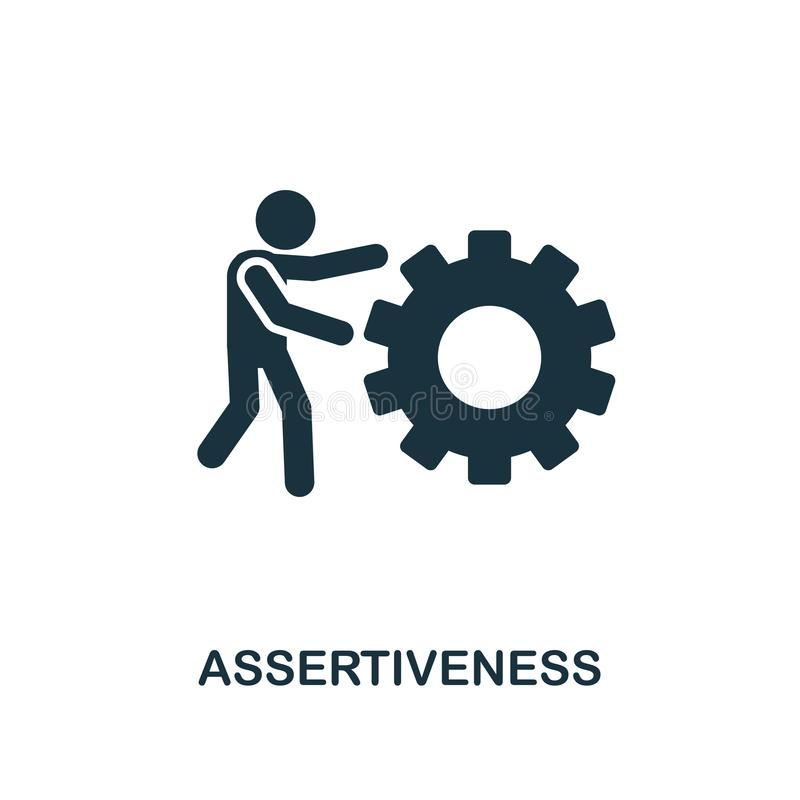 Assertiveness Stock Illustrations.