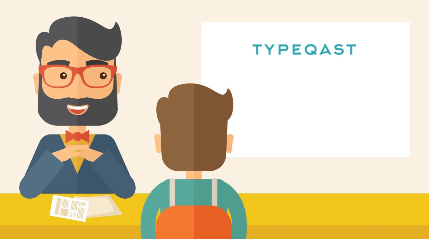 How we interview tech job candidates at Typeqast.
