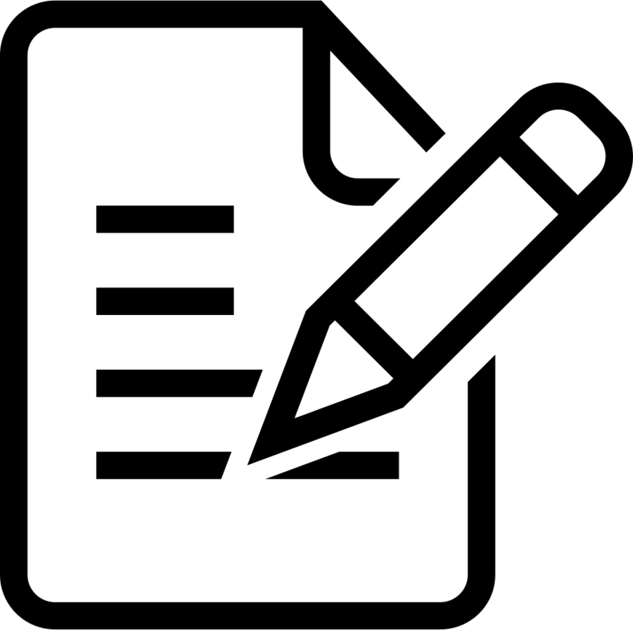 Evaluation Icon clipart.