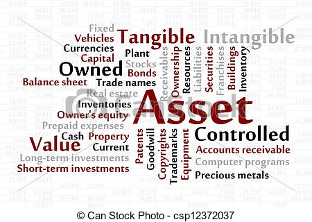 Fixed assets clipart.