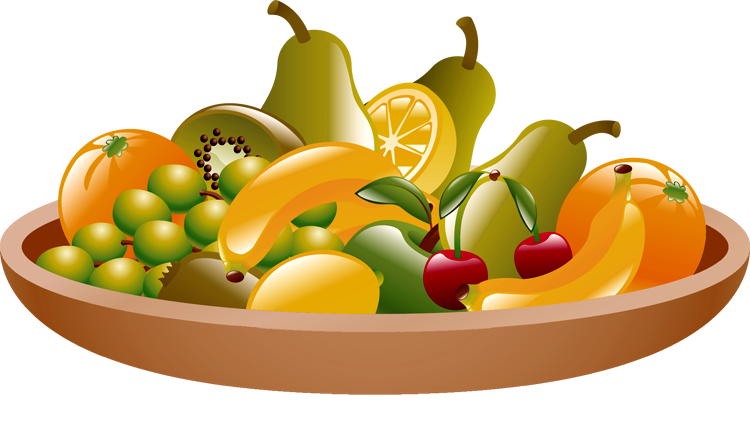 clipart fruits.