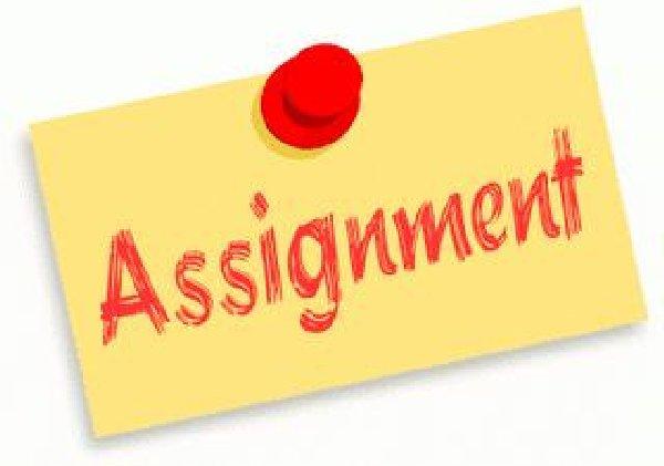 Assignment notebook clipart.