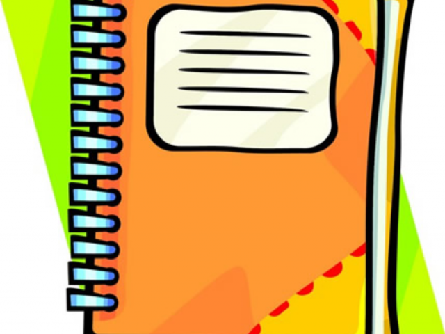 Notebook clipart assignment notebook, Notebook assignment.
