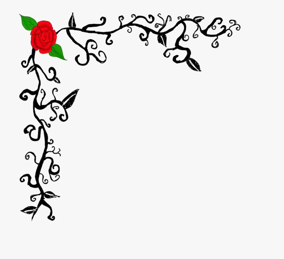 Images For Red Rose Page Border.