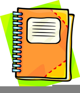 Assignment Notebook Clipart.