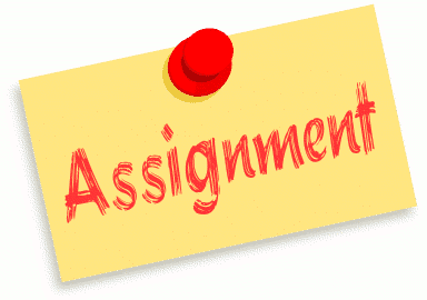 Assignment Clipart.