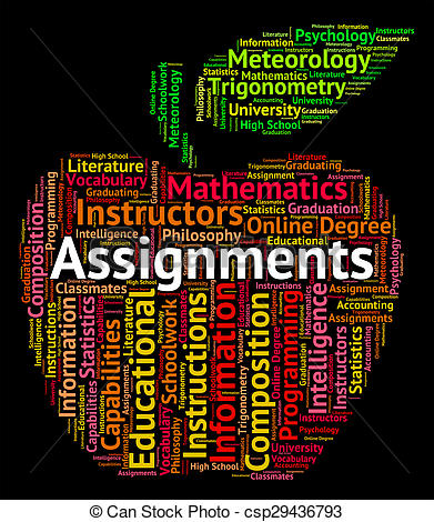 Assignments Clipart.