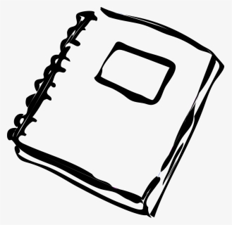 Free Homework Black And White Clip Art with No Background.
