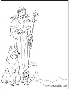 Assisi Clipart Clipground St Francis Of Assisi Coloring Page