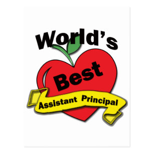 For Assistant Principal Postcards.