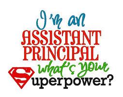 Assistant Principal.