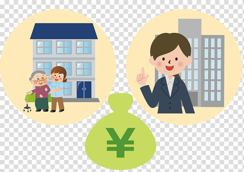 Home Cartoon, Assisted Living, Subsidy, Longterm Care.