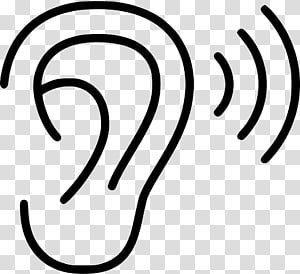 Hearing PNG clipart images free download.