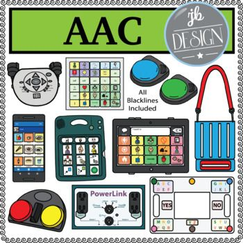 AAC (JB Design Clip Art for Personal or Commercial Use.