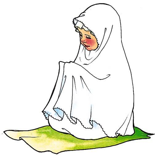 Namaz Prayers Clip Art.