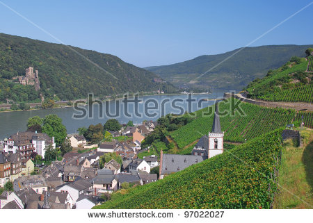 Ruedesheim Stock Photos, Royalty.