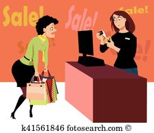 Sales associate Clip Art Vector Graphics. 154 sales associate EPS.
