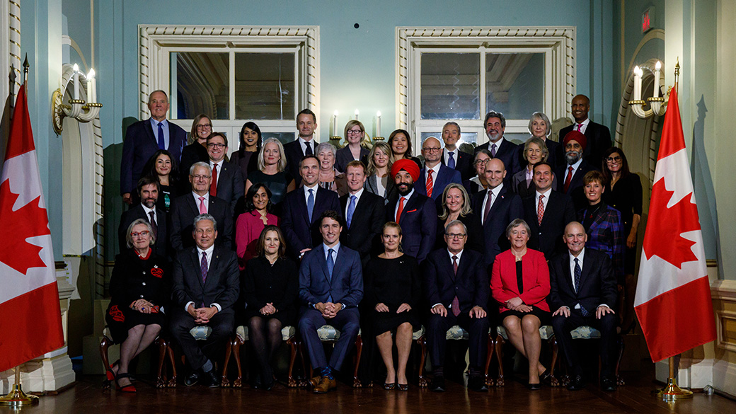 Prime Minister welcomes new Cabinet.