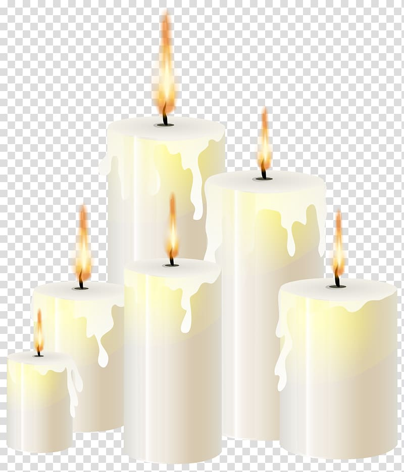 Candle Light , smoking transparent background PNG clipart.