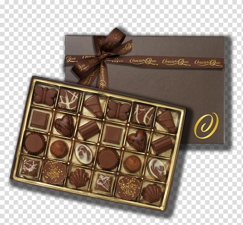 Chocolate box transparent background PNG cliparts free.