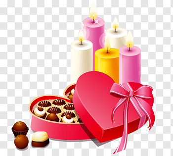 Gifts And Chocolates cutout PNG & clipart images.