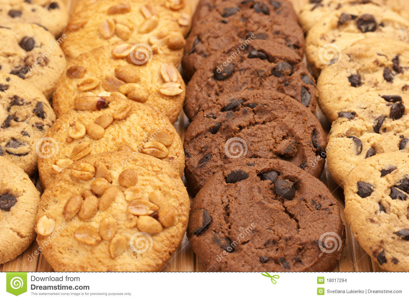Assorted Cookies Clipart.