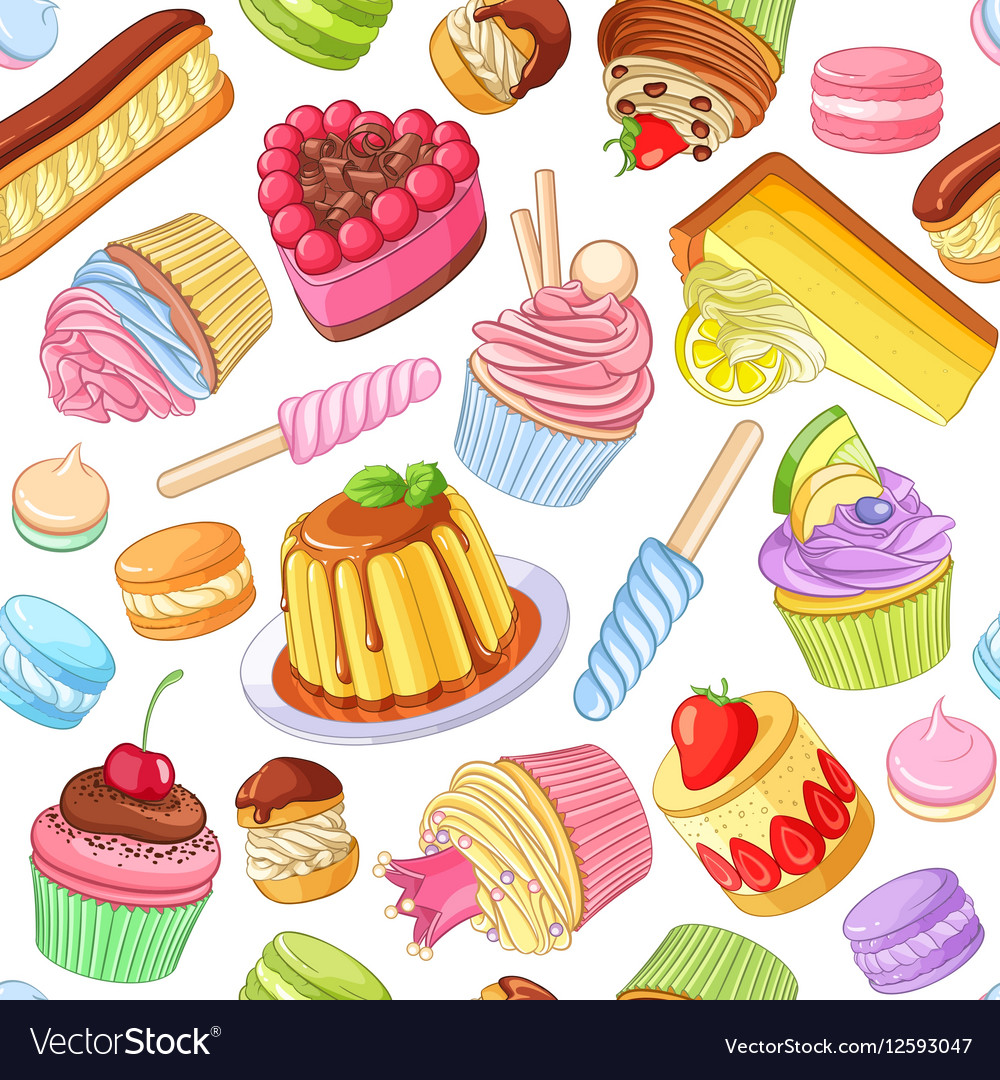 20 Desserts clipart assorted for free download on Premium.