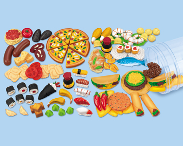 Multicultural Food Clipart.