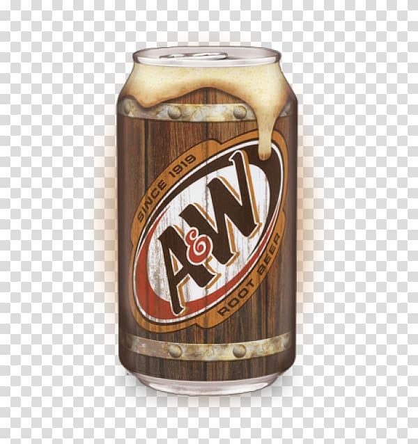 A&W Root Beer Fizzy Drinks Cream soda, beer transparent.