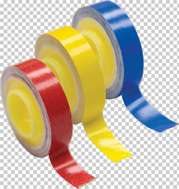 Plastic, color tape PNG clipart.