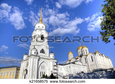 Stock Image of Assumption cathedral. Vladimir k21658575.