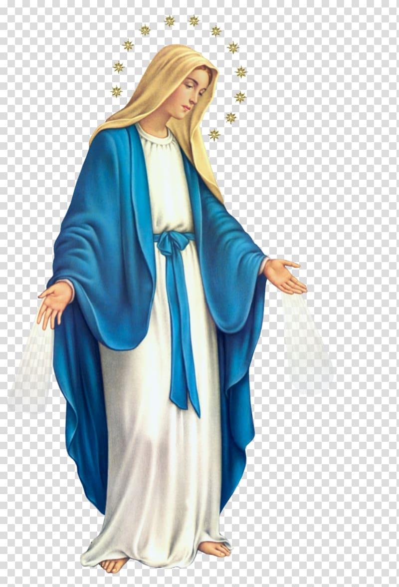 Virgin Mary illustration, Lumen gentium Rosary Immaculate Conception.