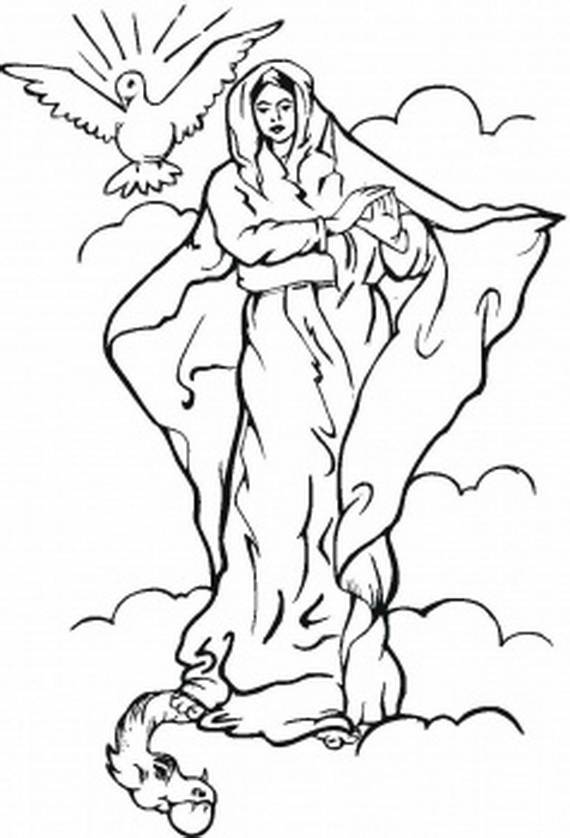 Free Blessed Mother Cliparts, Download Free Clip Art, Free Clip Art.