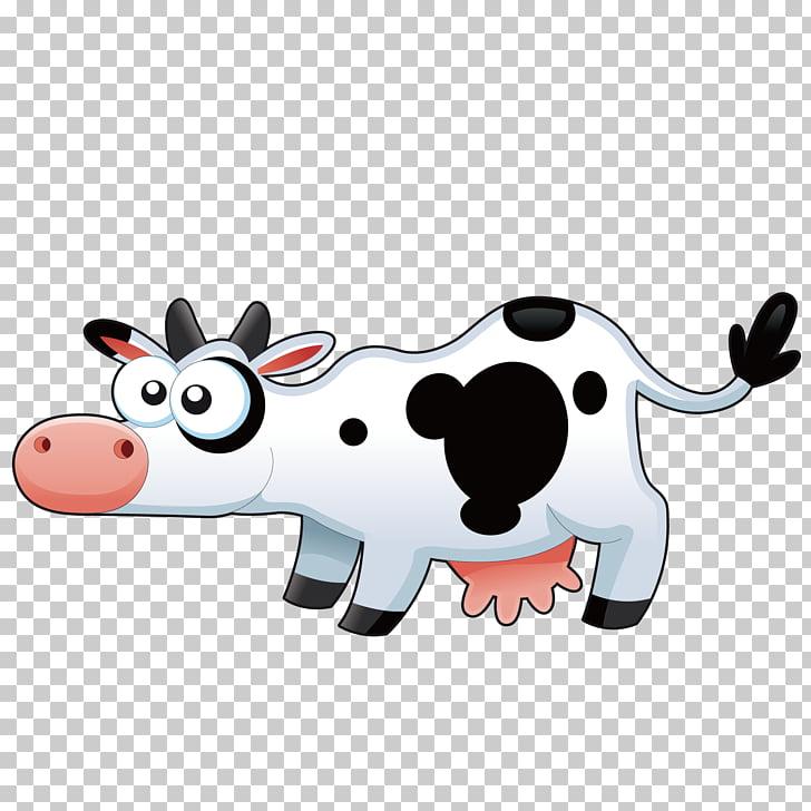 Cattle Sticker CatScat English for kids Zombie Asylum, Cow.