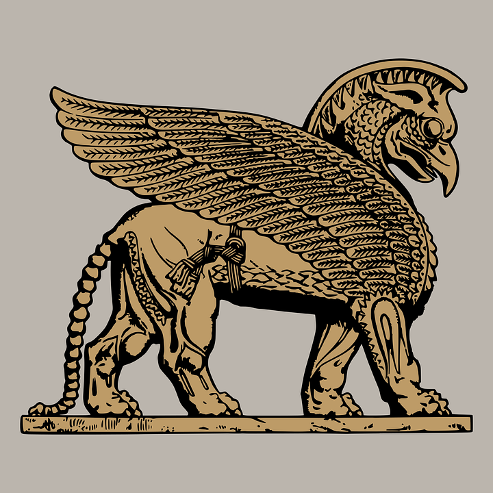 Free vector graphic: Assyrian, Daily Clipart, Ds 36.