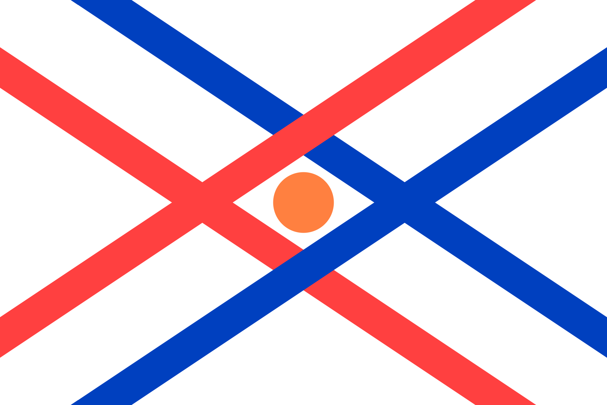 Assyrian flag redesign inspired by u/Foofalo : vexillology.