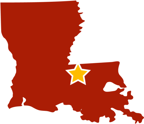 Louisiana Clipart State Louisiana State Black And White.