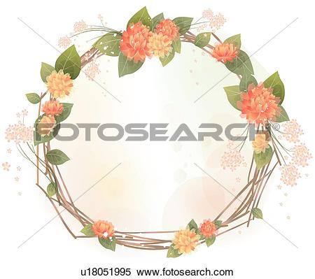 Clipart of Background, flowers, yellow flower, Asteraceae, Floral.