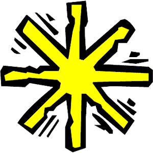 Asterisk 2 clipart, cliparts of Asterisk 2 free download (wmf, eps.