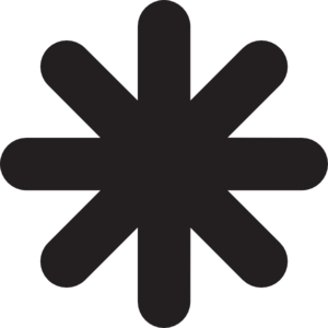 Asterisk Clipart.