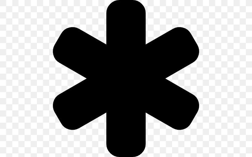 Asterisk Symbol Multiplication Sign, PNG, 512x512px.