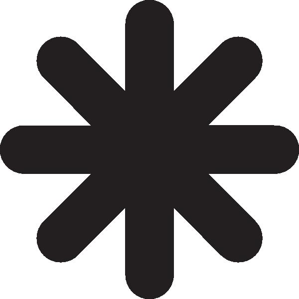 Asterisk Clip Art at Clker.com.
