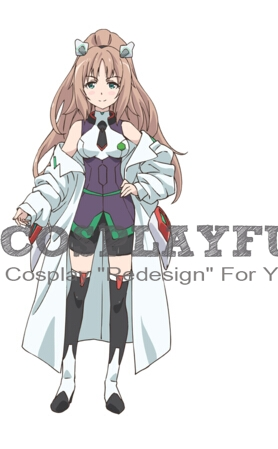 Custom Kuhne Cosplay Costume from The Asterisk War.