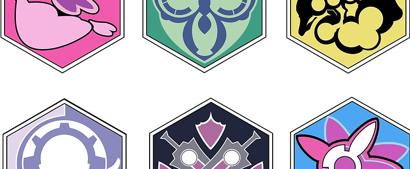 Asterisk War Academy Badges
